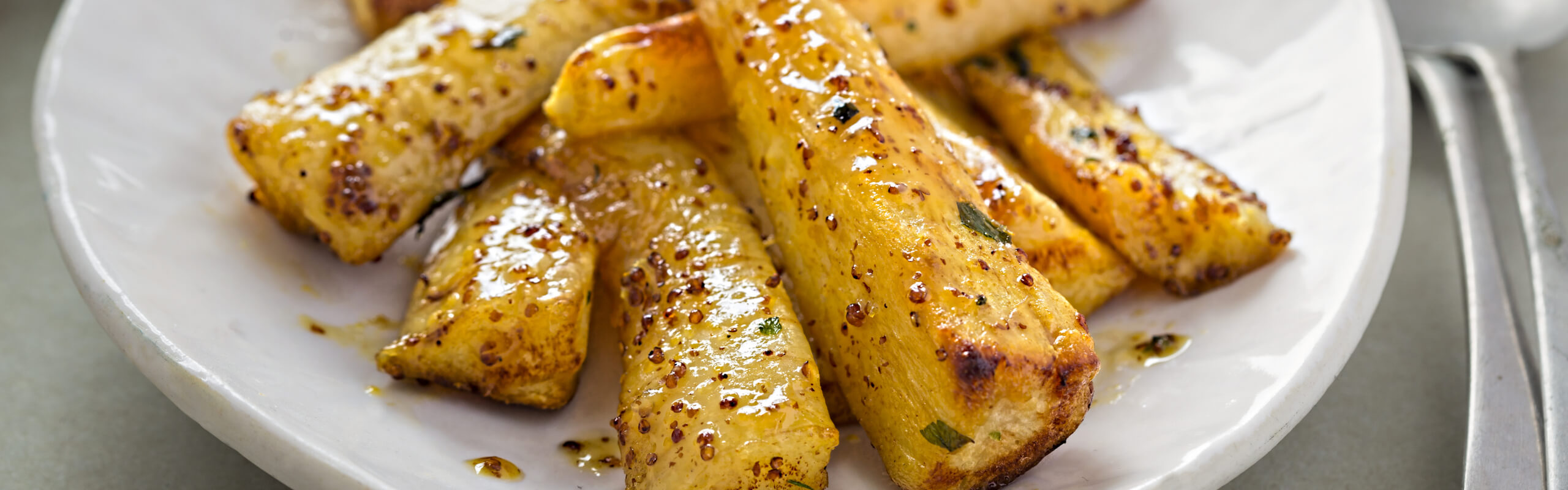 Feature Image: Parsnips with Chili and Garlic