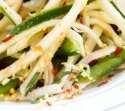 Feature Image: Jicama Salad with Cotija Cheese