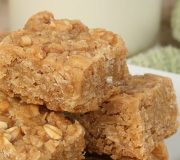 Feature Image: Almond Butter & Banana Baked Oatmeal Squares