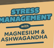 Feature Image: Stress Management with Magnesium & Ashwagandha